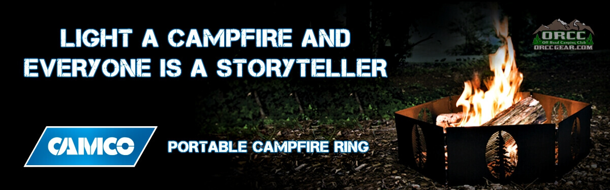 ORCC Camco Portable Campfire Rings