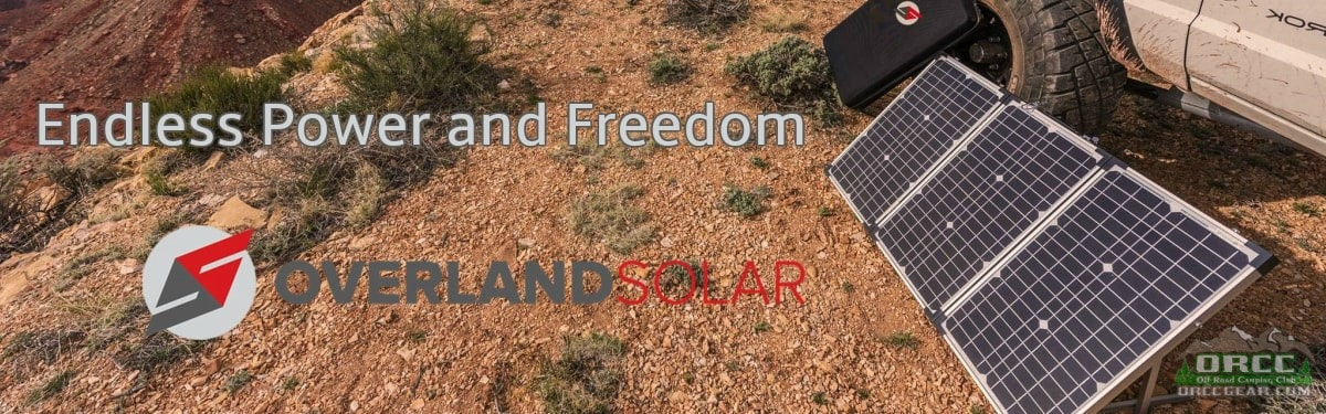 ORCC Overland Solar Panels