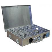 Partner Steel 2 Burner 16 and 18 Camp Stove with Lid