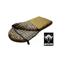 Black Pine Grizzly  Plus 0 Degree Canvas Sleeping Bag
