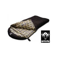 Black Pine Grizzly Minus 50 Degree Canvas Sleeping Bag