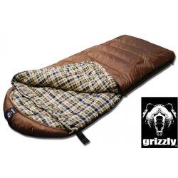 Black Pine Grizzly  Plus 25 Degree  Ripstop Sleeping Bag