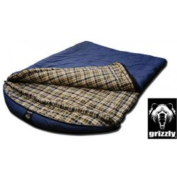 Black Pine Grizzly  Minus 25 Degree  2 Person Canvas Sleeping Bag