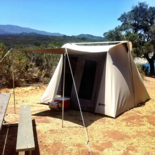 Hover to zoom & Kodiak Canvas | 10 x 10 ft Flex Bow Canvas Tent Deluxe | ORCCGear.com