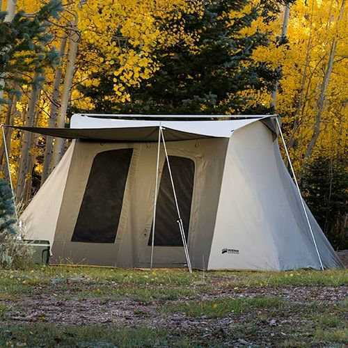 Kodiak Canvas 10x14 ft Flex Bow Canvas Tent Deluxe & Hunting Tents | The ideal Hunting Tents for shelter needed in the ...