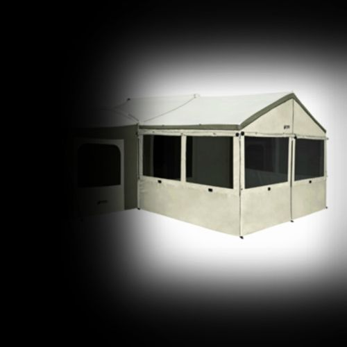 Hover to zoom & Kodiak Canvas | Wall Enclosure Accessory for 26 x 8 Cabin ...