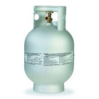 Manchester Tank Aluminum Propane Cylinders 10 lb Vertical