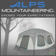 ALPS Mountaineering Camp Creek Two Room Camping Tent