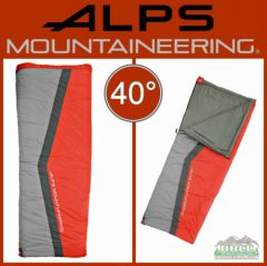 ALPS Mountaineering Cinch 40 Degree Sleeping Bags