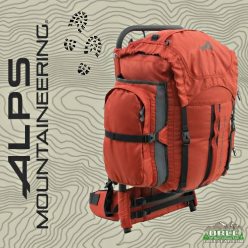 ALPS Mountaineering | Red Rock External Frame Backpack | ORCCGear.com