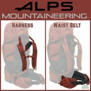 ALPS Mountaineering Red Tail 65 Harness and Waist Belt