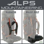 ALPS Mountaineering Red Tail 80 Harness and Waist Belt