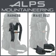 ALPS Mountaineering Shasta 70 Harness and Waist Belt