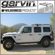 Garvin Adventure Rack Half Rack JL Wrangler 4Door Hard Top Only