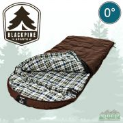 Black Pine Grizzly Minus 0 Degree Canvas Sleeping Bag