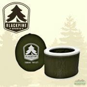 Black Pine Turbo Toilet Drab Green