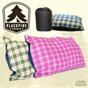 Black Pine Grizzly Camping Pillow