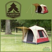 Black Pine Pine Deluxe 4 Turbo Tent