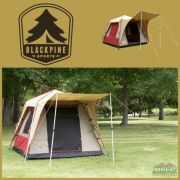 Black Pine Pine Deluxe 6 Turbo Tent
