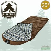 Black Pine Grizzly Plus 25 Degree Canvas Sleeping Bag