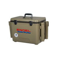 Engel Dry Box Cooler 30 Qts with 4 x Rod Holders
