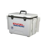 Engel Dry Box Cooler 19 Qts with 4 x Rod Holders
