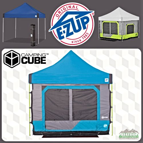 buy popular 5462c c6fce EZ UP Vantage Instant Shelter and Camping Cube 6 Package