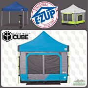 EZ UP Vantage Instant Shelter and Camping Cube 6 Package