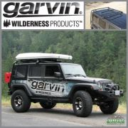 Garvin Adventure Rack Half Rack JK Wrangler 4Door Hardtop Only