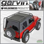 Garvin Adventure Rack JK Wrangler 2Door