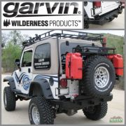 Garvin G2 Series Rear Bumper and Swing Away System