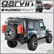 Garvin G2 Series Rear Bumper and Tire Carrier System