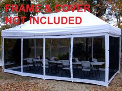 King Canopy Instant Canopy Explorer 10 x 15 Screen Room Only