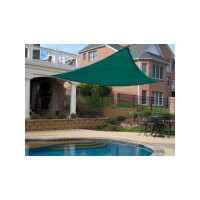 King Canopy Sun Shade Sail 16 Triangle