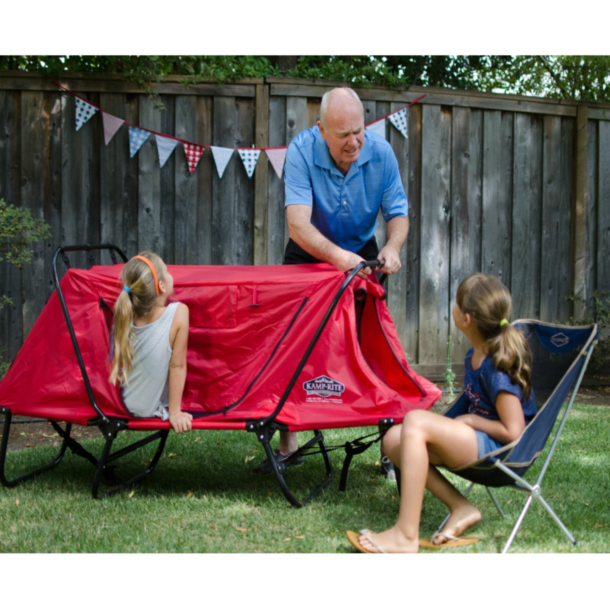 Kamp Rite Kids Tent Cot Hover To Zoom