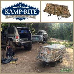 Kamp Rite Camouflage Rain Fly for Tent Cot