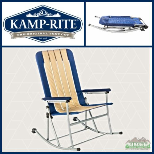 K& Rite Folding Rocking Chair. Tap to expand  sc 1 st  ORCC Gear & Kamp Rite | Folding Rocking Chair | ORCCGear.com