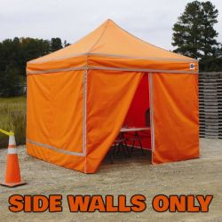 King Canopy Instant Canopy Emergency Response Unit 10 x 10  4 Wall Enclosure Kit