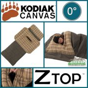 Kodiak Canvas 0 Degree Regular Z Top Sleeping Bag