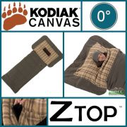 Kodiak Canvas 0 Degree XLT Z Top Sleeping Bag