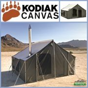 Kodiak Canvas 12 x 12 Cabin Lodge Tent
