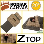 Kodiak Canvas 20 Degree Regular Z Top Sleeping Bag