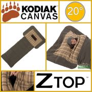 Kodiak Canvas 20 Degree XLT Z Top Sleeping Bag