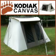 Kodiak Canvas 9x8 ft Flex Bow Canvas Tent Deluxe