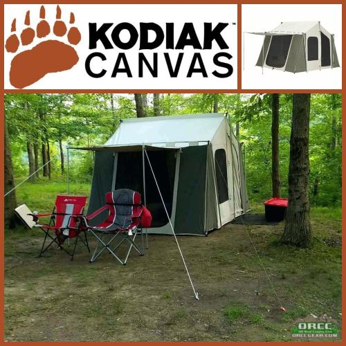 Tap to expand & Kodiak Canvas | 12 x 9 ft Cabin Tent | ORCCGear.com