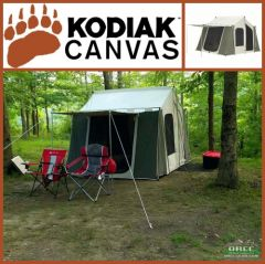 Kodiak Canvas 12x9 ft Cabin Tent