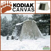 Kodiak Canvas 10x10 ft Flex Bow Canvas Tent Basic