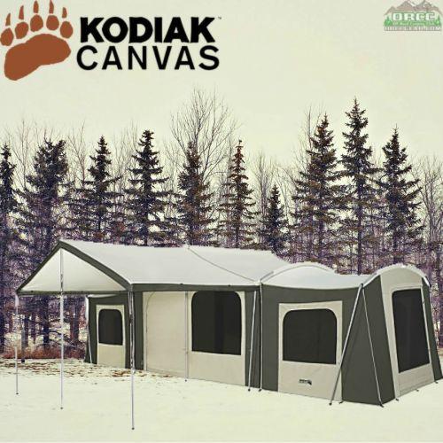 Kodiak Canvas 26x8 Grand Cabin Tent. Hover To Zoom