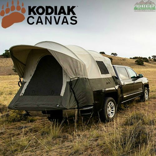 kodiak canvas truck tent 8 ft. Black Bedroom Furniture Sets. Home Design Ideas