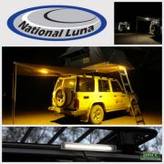 National Luna Clip On Dual Power Lights 9 LED